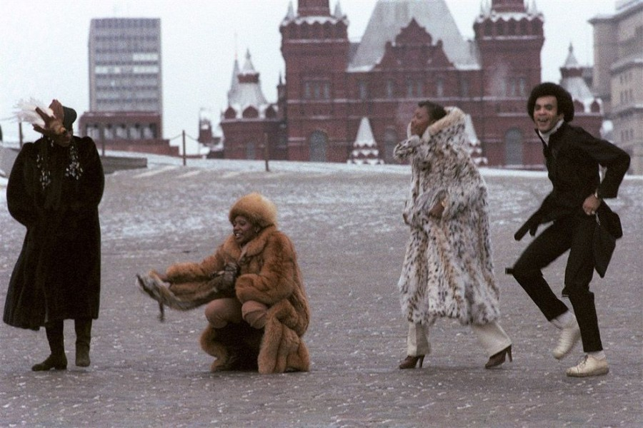 001 Бони-М на Красной площади, 1978 год