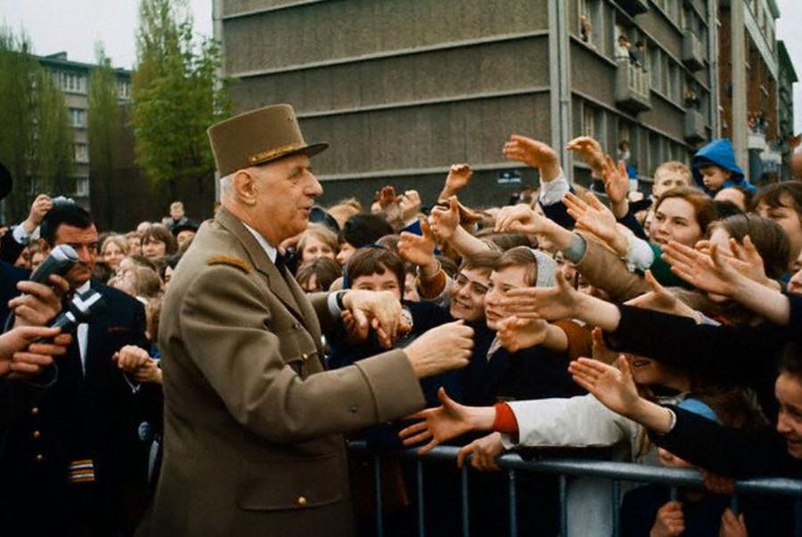 016 Президент Франции Шарль де Голль, 1966