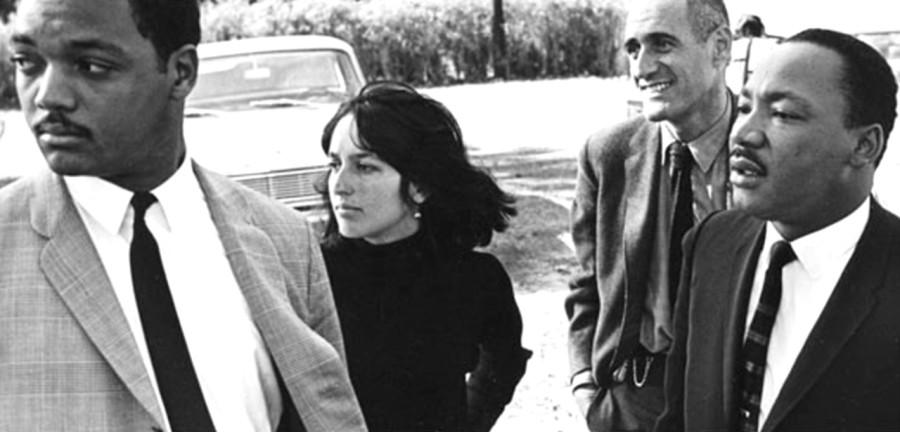 022 Мартин Лютер Кинг, Джесси Джексон, и Джоан Баэз, 1966