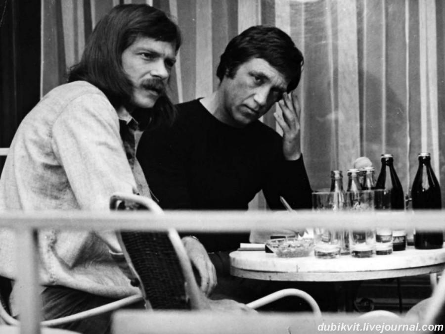 047 Владимир Высоцкий во время съёмок фильма «Бегство мистера Мак-Кинли». 1974 год