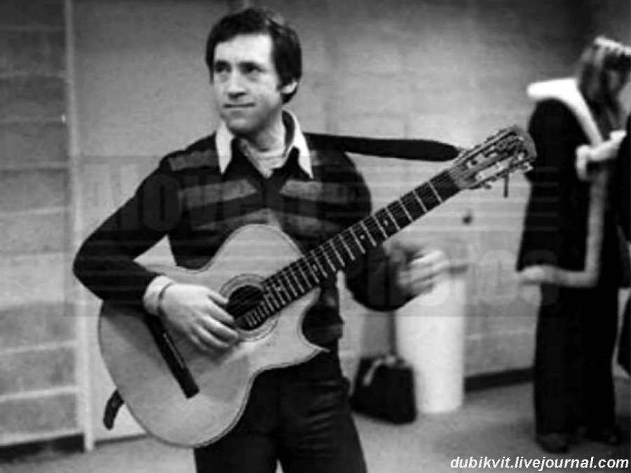 063 Владимир Высоцкий в Квинс-колледже г.Нью-Йорка (США). Фото Нины Аловерт, 19 января 1979 года