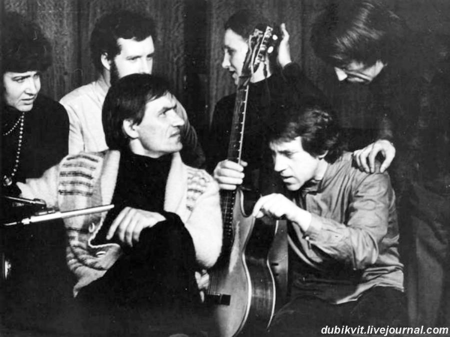 068 Владимир Высоцкий в зале БДТ г.Ленинграда. Фото А.Стернина, 16 апреля 1980 года