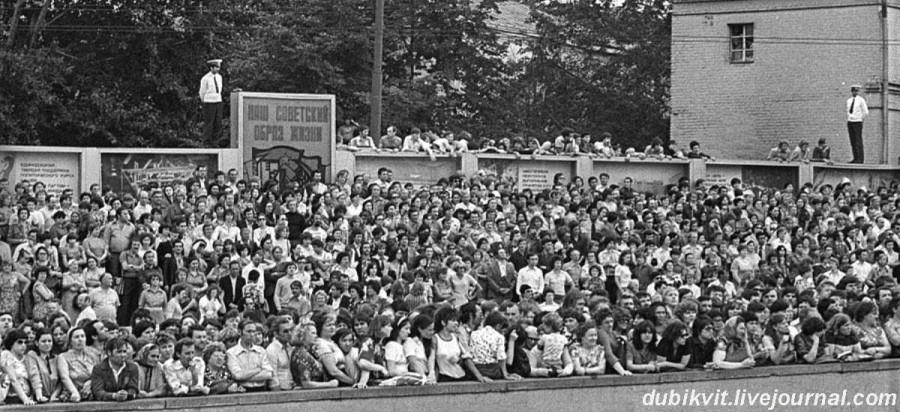 077 Прощание с Владимиром Высоцким. Фото 28 июля 1980 года