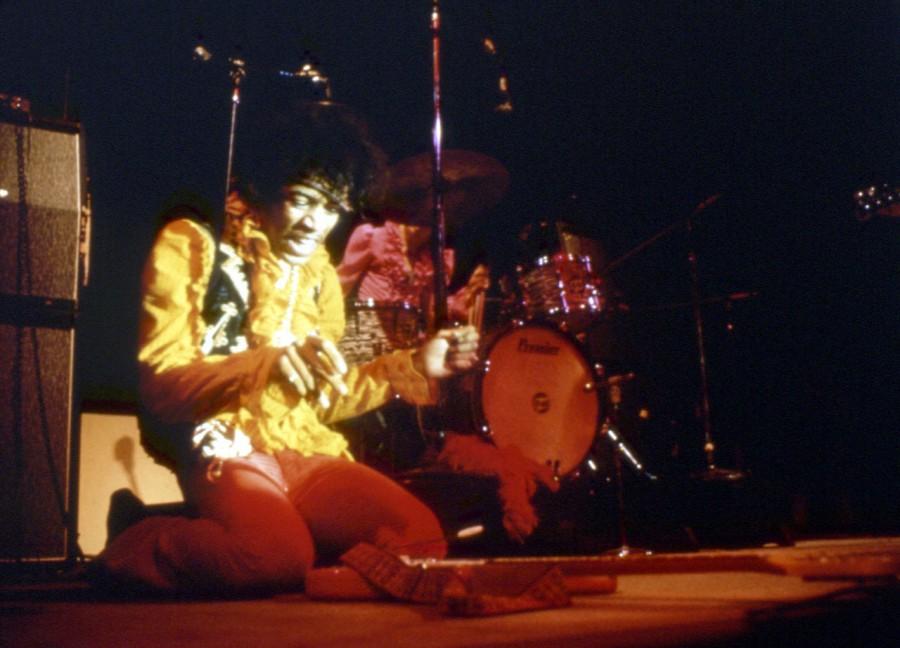 003 Джими Хендрикс на Монтерее 1967 год