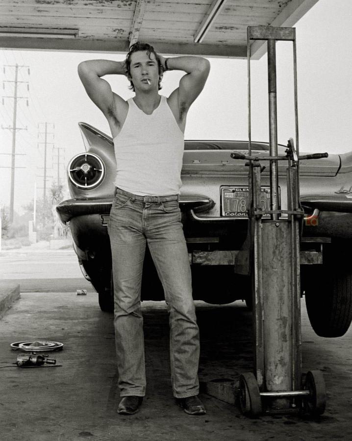 017 Ричард Гир, 1978 год. Фотограф Херб Ритц сделал этот портрет своего близкого друга, начинающего и никому неизвестного тогда актера — Ричарда Гира