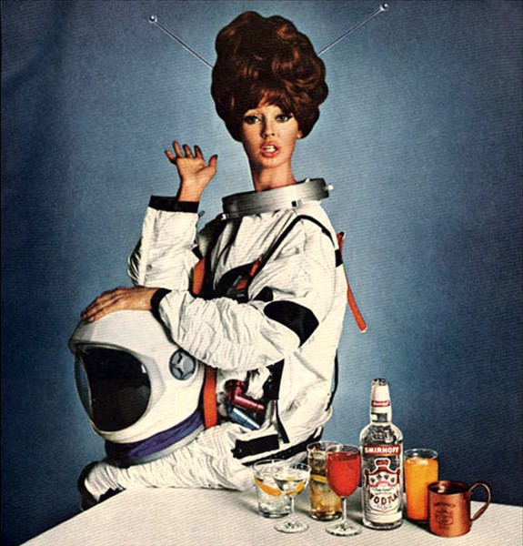 Smirnoff Vodka ad, 1966