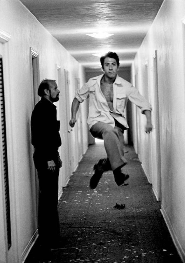023 Дастин Хоффман и режиссер Боб Фосс, 1981