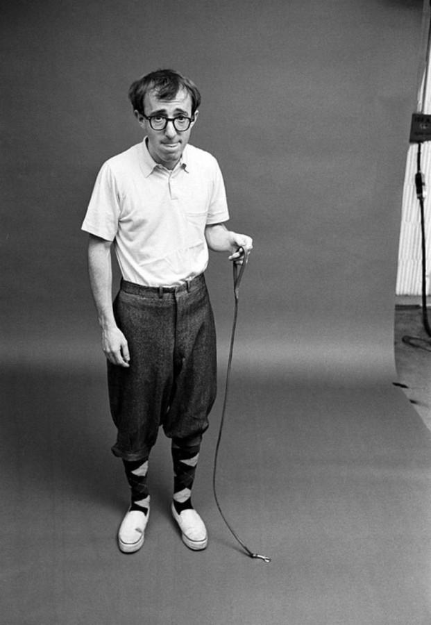029 Вуди Аллен с муравьем на поводке, 1964