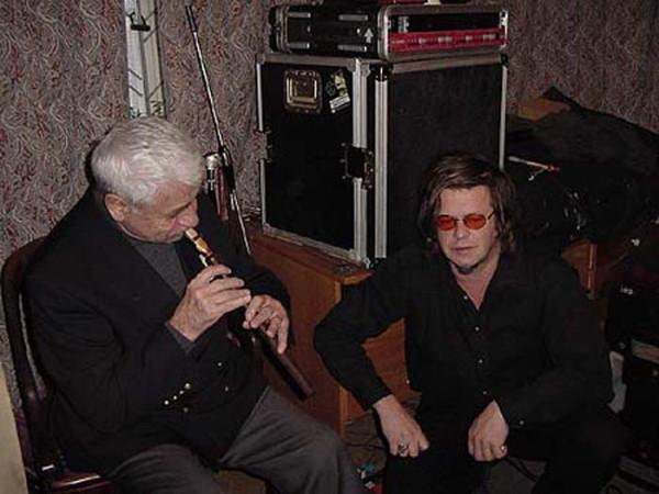 014 Борис Гребенщиков в студии с Дживаном Гаспаряном, ноябрь 2001