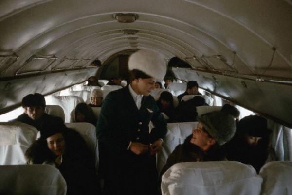 060 Стюардесса Тамара на Ил-14, рейс Иркутск – Якутск