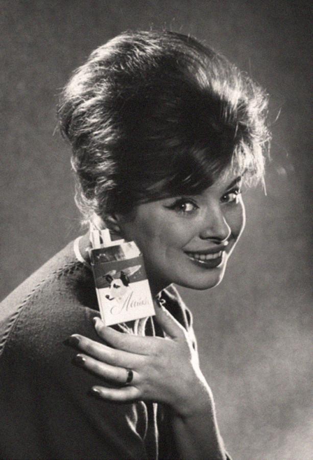 Реклама сигарет Лайка. Автор Трахман Михаил, 1960-е
