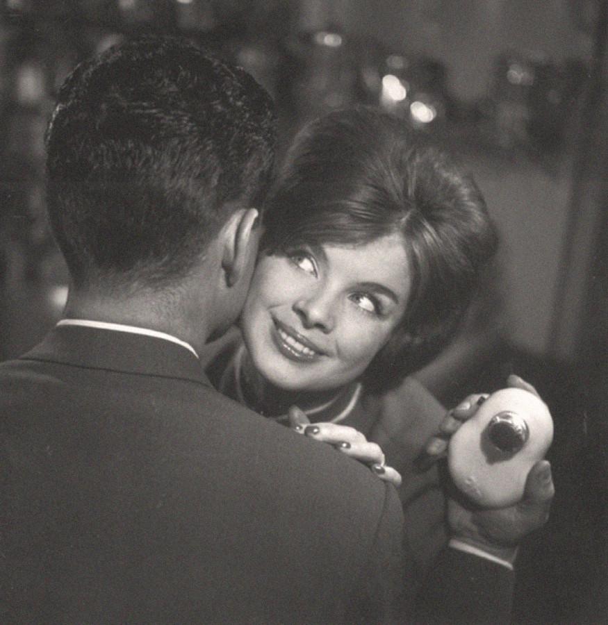 Реклама электробритвы. Автор Трахман Михаил, 1960-е