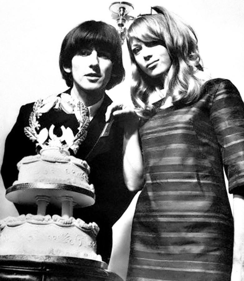 009 Джордж и Патти - свадебный торт - 21 января 1966 года