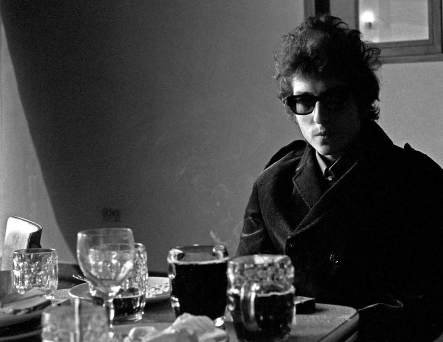 029 Боб Дилан - Лондон - фото Б. Вентцель - 1965