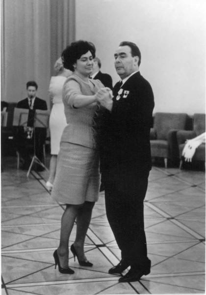 60-летие Леонида Брежнева. Танец с дочерью