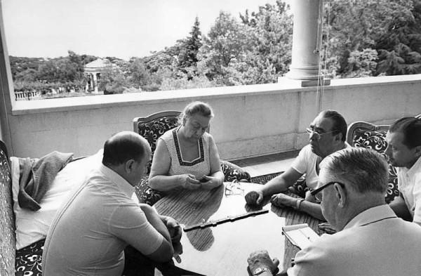 Брежневы любили поиграть в домино с охраной