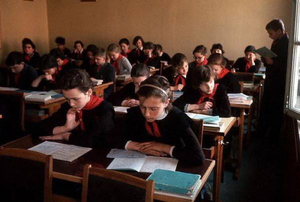 070 На уроке в московской школе