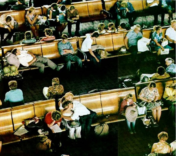 077 Зал ожидания вокзала Новосибирск-Главный