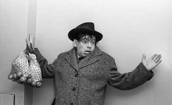 Аркадий Райкин. Съёмка для журнала Огонёк. Автор Кривоносов Юрий, 1961