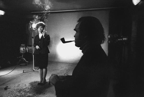 Глеб Панфилов и Инна Чурикова на пробах к фильму Прошу слова. Автор Гневашев Игорь, 1974