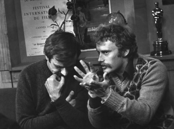 Разговор по душам. Н. Михалков и Д. Ольбрыхский. Автор Кмит Галина, 1970