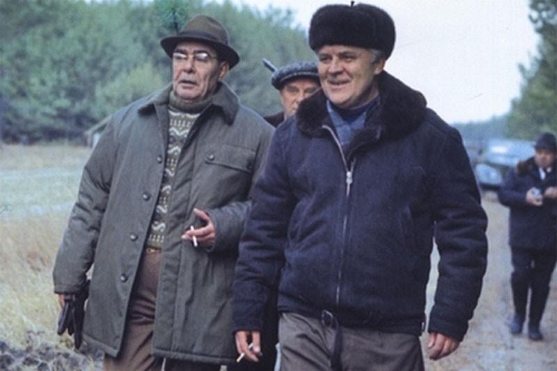 Брежнев в охотничьем хозяйстве «Залесье» на Киевщине, 1976 год