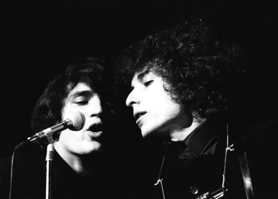 018 Боб Дилан и Рик Данко, 1966