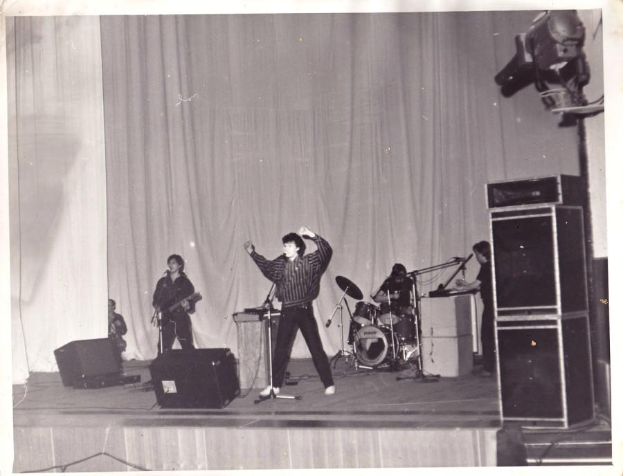 017 Выступление группы «Телевизор» в Ангарске, 1987 год