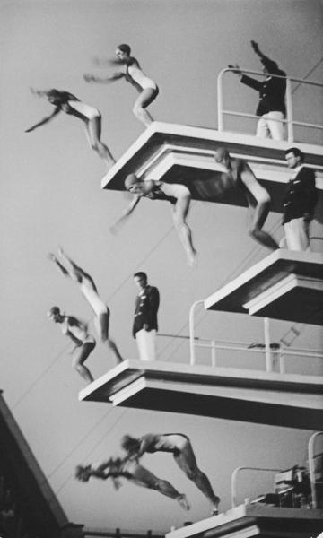 Водный фестиваль. Автор Бородулин Лев, 1973