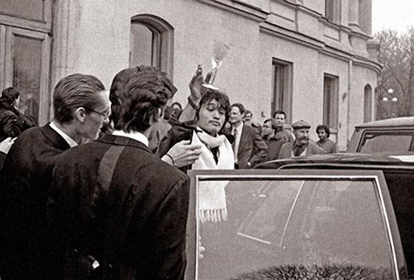 Свадьба Джоанны Стингрей и Юрия Каспаряна,  2 ноября 1987