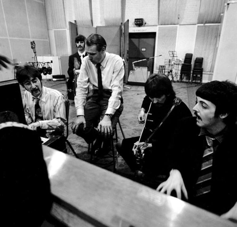 12 THE BEATLES с Джорджем Мартином - 1967