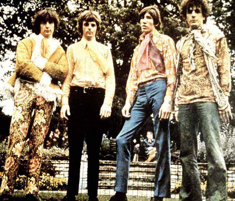 16 PINK FLOYD -  1967 год