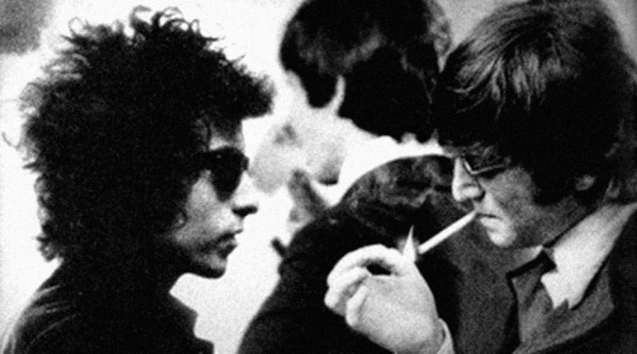 20 Боб Дилан и Джон Леннон, 1965