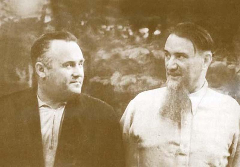 20 С. П. Королев в гостях у И. В. Курчатова, Москва, июль 1959 г.