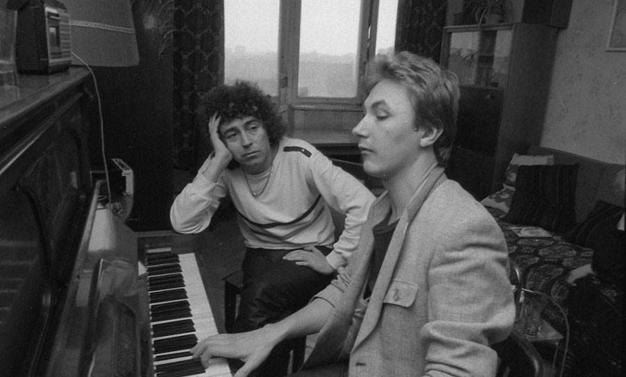 Валерий Леонтьев и Игорь Николаев. 1985 год. Автор фото Сергей Борисов