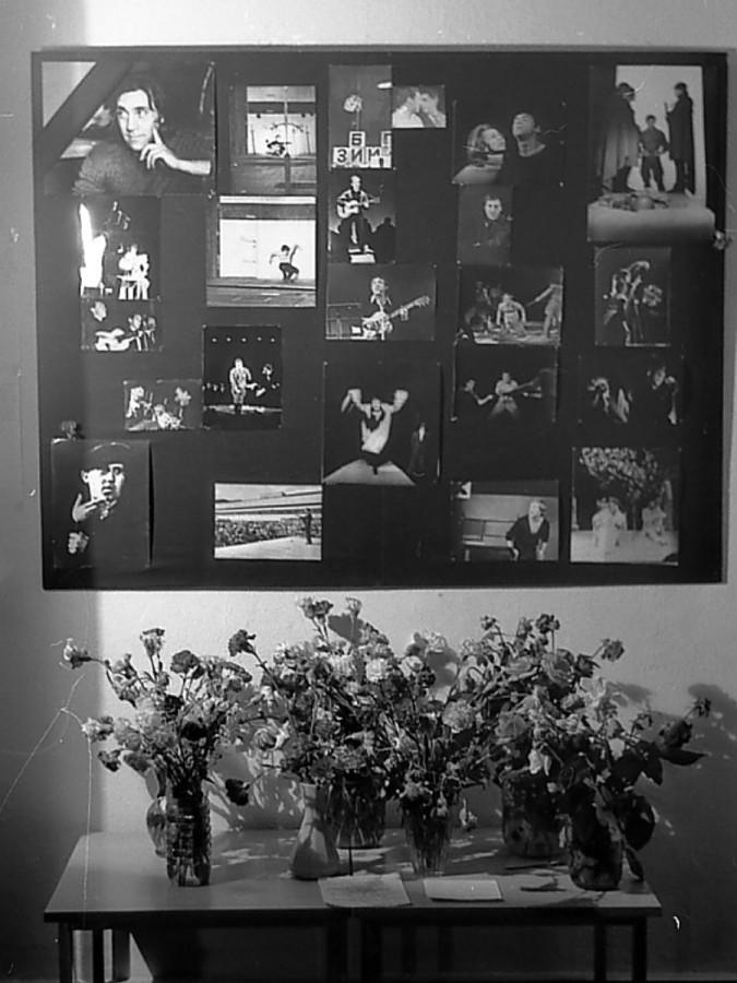 Прощание с Владимиром Высоцким в театре на Таганке. Фото Николая Кондакова 28 июля 1980  года
