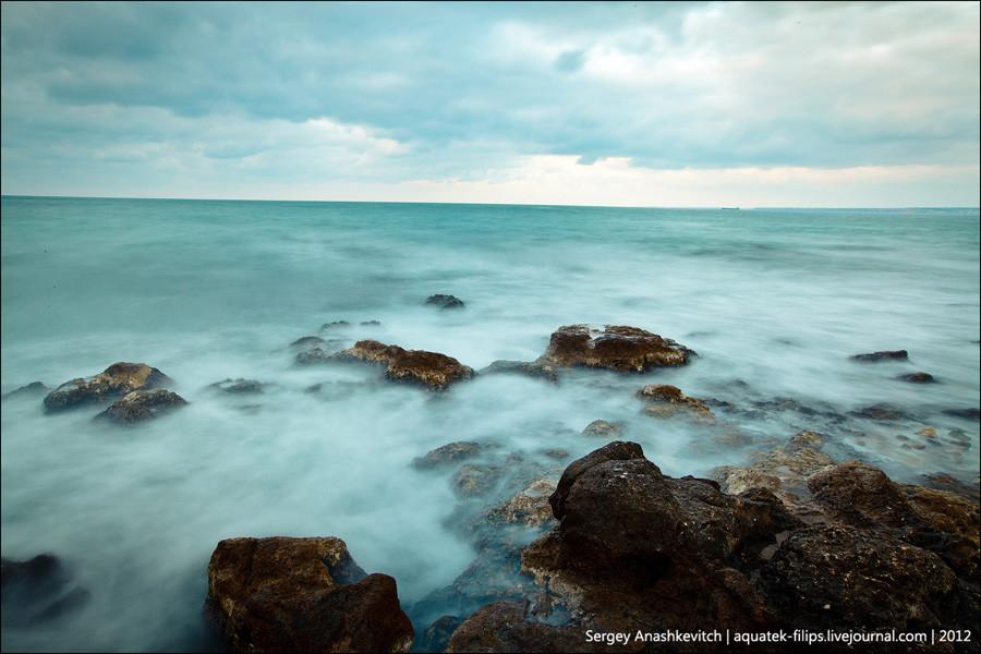 Вечернее море Херсонеса