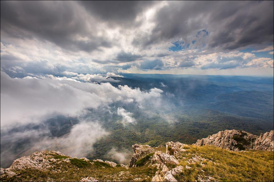 Небо над Крымским заповедником