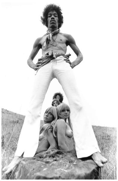 196 Джими Хендрикс - Фото Роз Келли - 1968