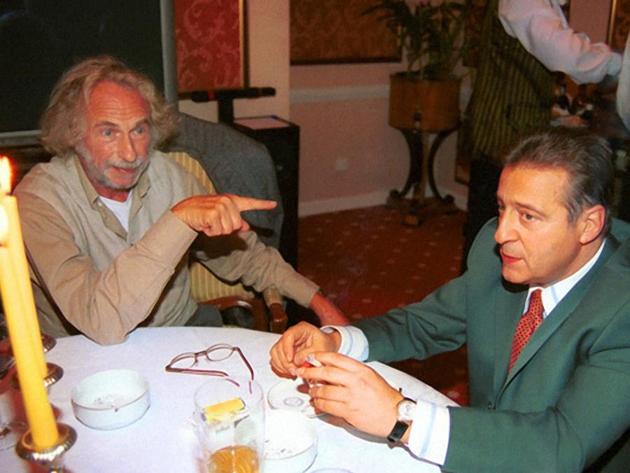 Пьер Ришар и Геннадий Хазанов