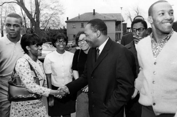 205 Мартин Лютер Кинг в Кливленде, 1967