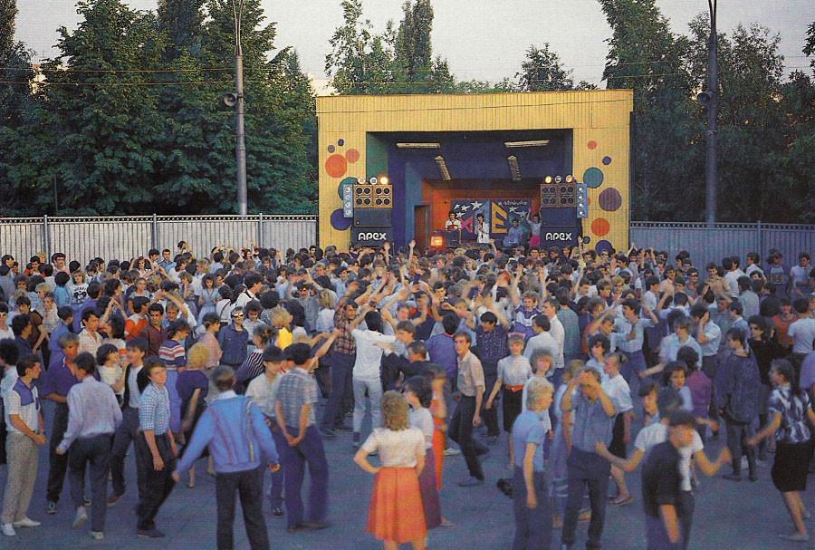 Одна из самых популярных групп 80-х