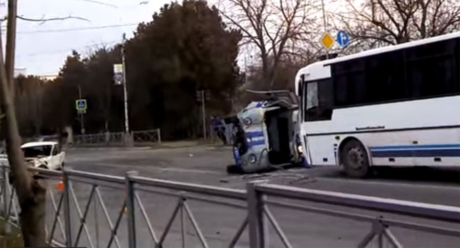 Страшная авария в Кисловодске