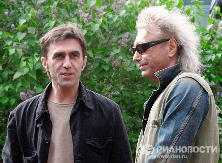 Кинчев и  Бутусов