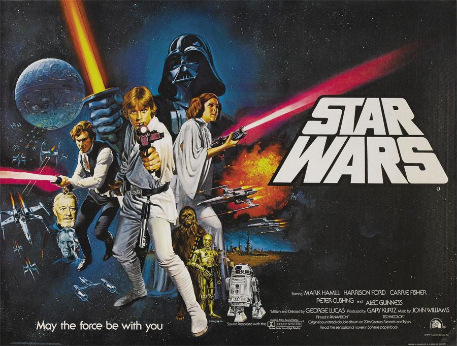 """""""Звёздные войны"""". Ретро плакаты 1977 года"""