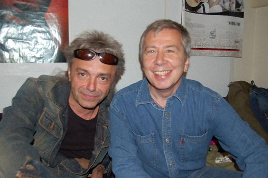 Кинчев и Романов