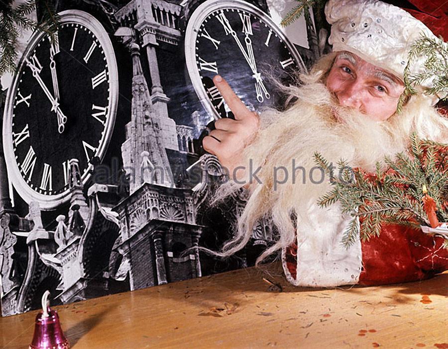 Новогоднее поздравление. 1970 год. Фото Виктора Будана и Валентина Кунова. Фотохроника ТАСС