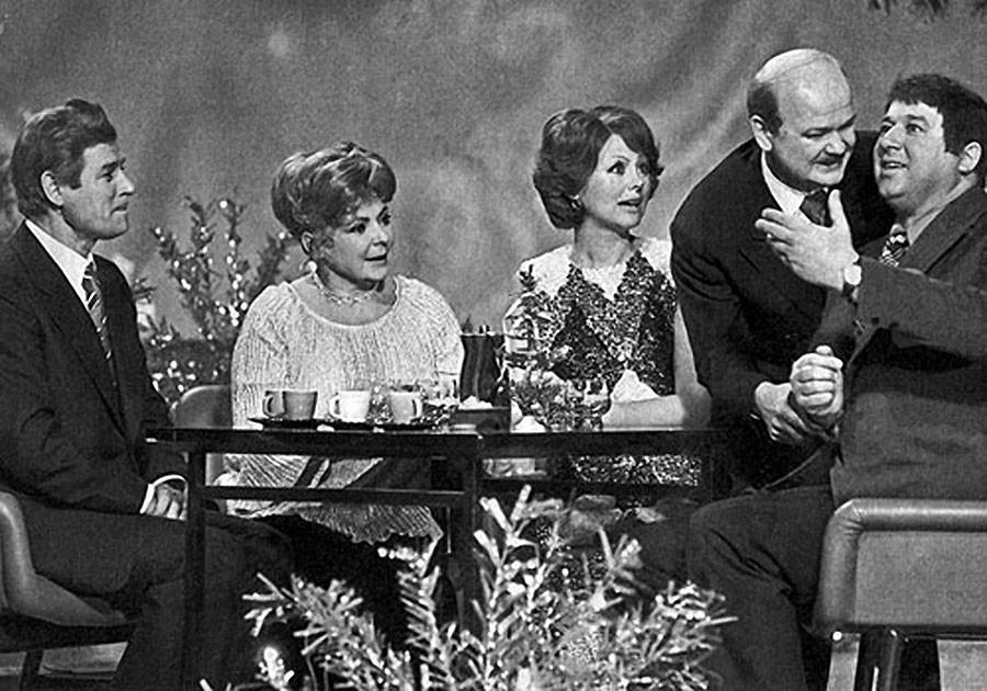 Станислав Микульский, Пани Моника, пани Катарина, пан Вотруба, пан спортсмен. 1976 год. Фото Валентина Мастюкова