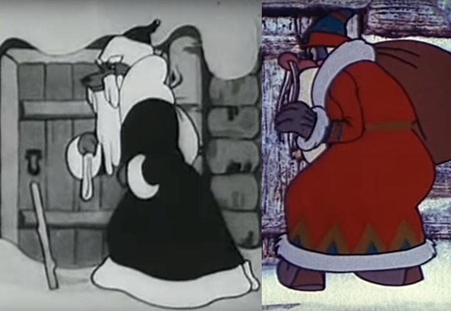 Первый советский новогодний мультфильм