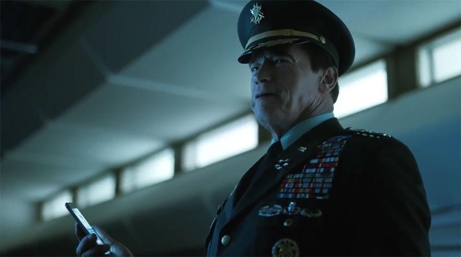 Арнольд Шварценеггер в рекламе мобильной игры